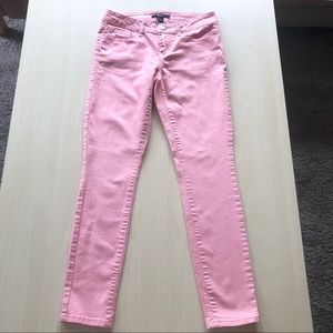Forever 21 Pink Skinny Pants Size 25